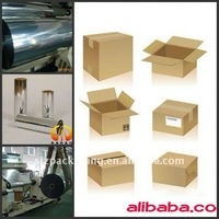 Pre-coated BOPP film for paper industry