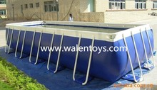 Above Ground Steel Frame Swimming Pool with Sand Filter