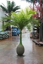 Artificiale alberi di cocco più economico, cocco finta alberi piante sempreverdi in vendita