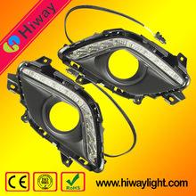Auto tuning light LED daytime running light for Mazda 6 Led drl light