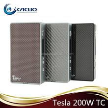 Hottest selling electronic cigarette vape TC mod snow wolf 200w/eleaf istick TC40w/Tesla 200W