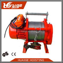 1T~2T Multifunctional electric wire hoist/electric winch/220v elctric hoist