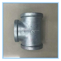 Professional manufacture 2 inch hot galvanized pipe equal tee