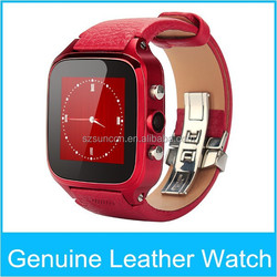 Android 4.4 smart watch bluetooth 3G GPS AGPS dual core watch phone with sim slot