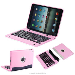 Bluefinger removable case cover Bluetooth 3.0 keyboard for iPad Mini3/2/1