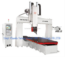 Good price!!! Professional cnc 5 axis router equipment (JC-5AXIS)