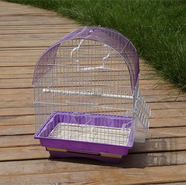 plástico gaiola bandejas de arame gaiolas de pássaros