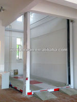 Hydraulic platform lift in home for car lifting WCH300