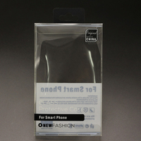 Clear PVC Box for Mobile Phone Case Cover Transparent Retail Packaging