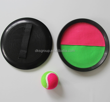 children catch ball toy set/velcro catch ball game