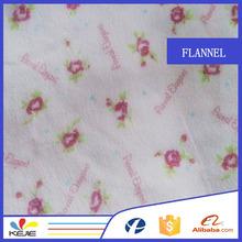 Custom flannel cotton fabric wholesale 100% printed cotton fabric