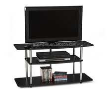 Fashion Black Wooden Modern TV Stands For 42 - inch LCD / Plasma Screen (DX-BB10)