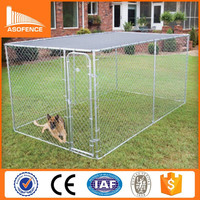 US hot sale high quality and safe 10 x 10 dog kennels with top
