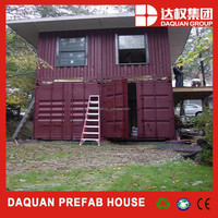 2015 Hot Sale ! Fast Installation and Anti-earthquake Portable Movable Prefab Flatpack Office/Living Room/ Container House