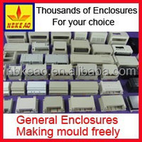 Wholesale din rail plastic enclosure plc module enclosure terminal mounting enclosure PIC999