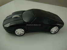 Funny car shaped USB 3D optical wireless mouse with high DPI and resolution; perfect gift for racing driver or boys!