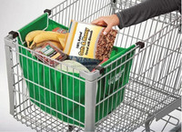 2015 Creative Grab Bag folding shopping bag reusable shopping cart bags