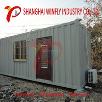 shanghai manufacturer prefab building container house