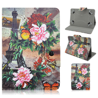Colored Drawing Patterns Pu Leather Smart Stand Case Cover for iPad 2/3/4/Air