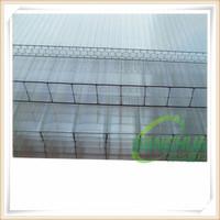construction materials sun house pc honeycomb sheet, polycarbonate honeycomb sheet