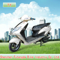 2013 new chopper electric motorcycle with hyraulic fork 800-1500w motor and hide battery for two person
