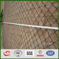 Green PVC coated chain link fencing, Diamond Wire Mesh Fencing