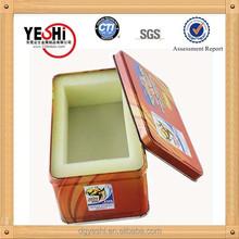 rectangle packing tin box, packing tin box supplier