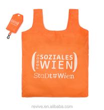 High Quality Promotion Foldable Shopping Bag/Fashion Customized Nylon Shopping Bag