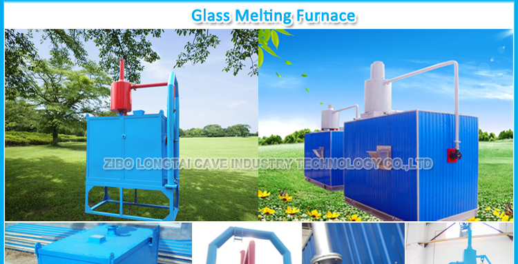 small glass furnace
