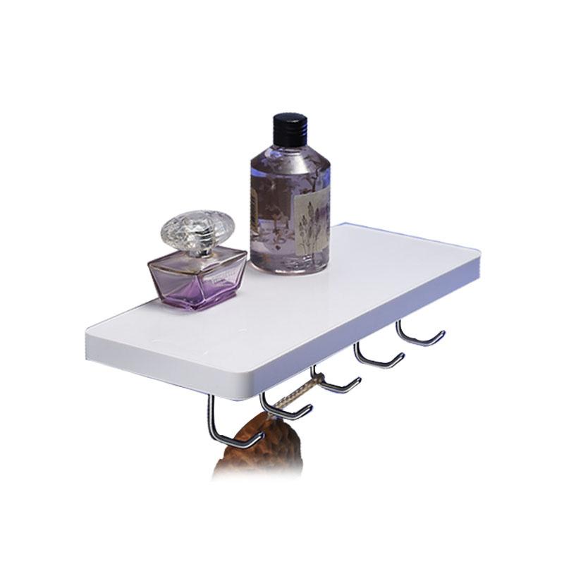 Awesome New Storage Plastic Bathroom Sundries Rack Corner Shelf  EBay