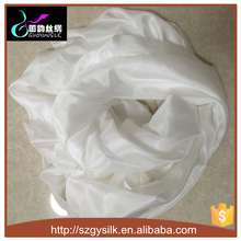 100% pure white silk scarf for dying