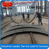 Tunnel support steel arch/U shape steel beam arch