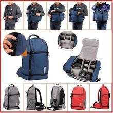 DSLR fashion canvas New Fashion Pu Leather 511# military backpack
