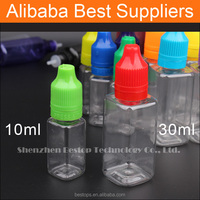China Mojito Empty Bottle Plastic Dropper Bottles for Medicine With e juice Labels