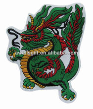 chinese dragon embroidered patch