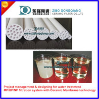 MF,UF ultrafiltration ceramic membrane filter element for filtration,separation,purification and clarification