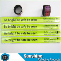 High Visibility Retro-reflective Slap Bracelet