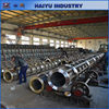 Precast prestressed concrete pile mold and concrete pile spinning machine