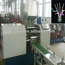 SY097 automatic artistic flexible drinking straw making machine