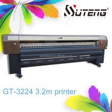 Suton GT series 3.2 meter width large format screen printer machine ,digital printing machine/high-resolution inkjet printer