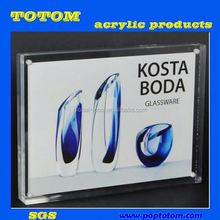 POP acrylic cheap photo frame holder/acrylic frames/acrylic