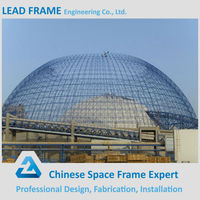 Light Steel Space Frame For Dome Storage Building