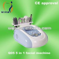Newest VY-Q05 5 In 1 Multifunction Facial Tool Beauty Equipment With CE Approval