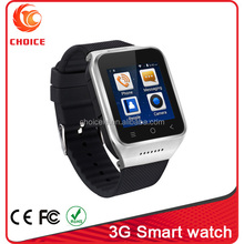 good projector mobiles phones with 3g wrist watch smart with android 4.4