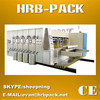 HRB-PACK Fully automatic corrugated carton print slot die cut machine