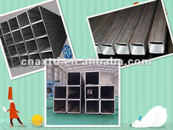 Made in China ms carbon high quality square tube hot selling!!!