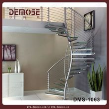 Professional spiral/straight metal stair
