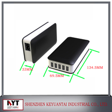 multi port usb chargers with smart IC, regulated power supply for iphone 6 case