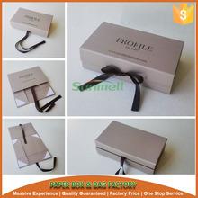 folding fashion luxury gift paper box design