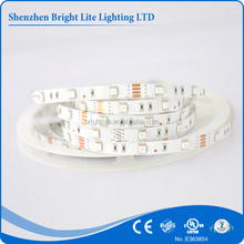 5050 Nonwaterproof IP20 RGB 30LED/meter UL certificated 5050 led strip UL CE ROHS